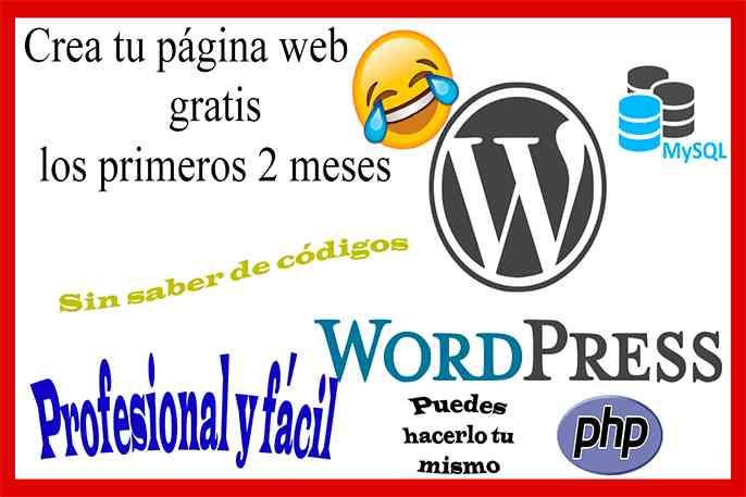 como crear una página web gratis paso a paso